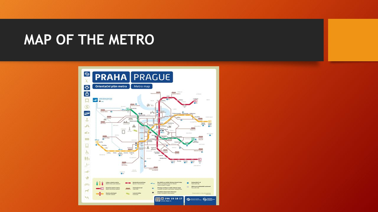 MAP OF THE METRO