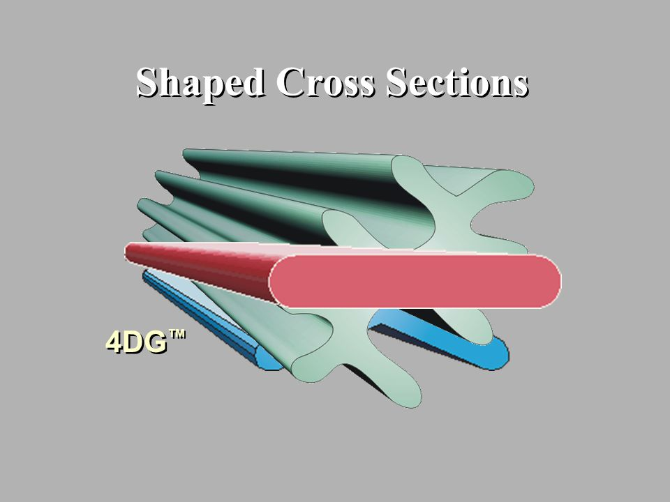 Shaped Cross Sections 4DG™