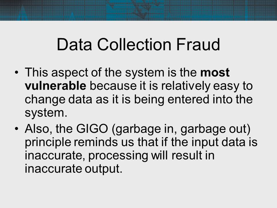Data Collection Fraud