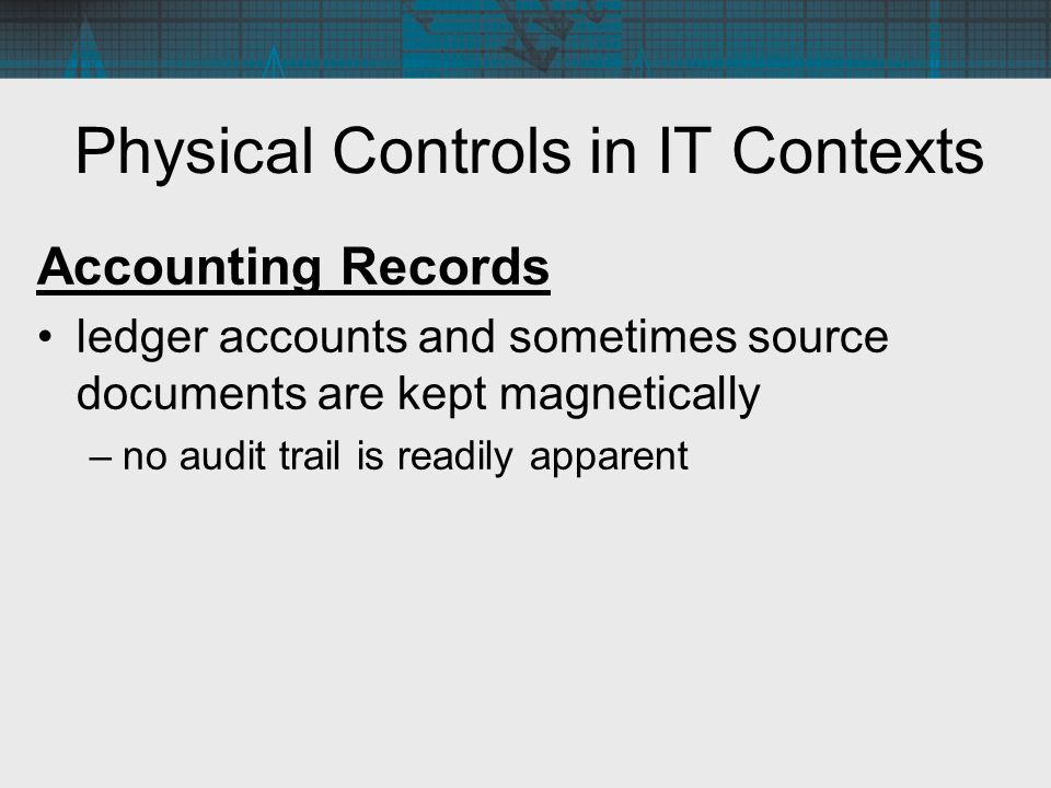Physical Controls in IT Contexts