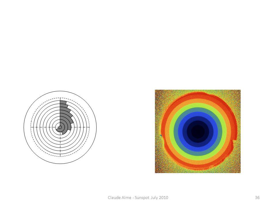 Claude Aime - Sunspot July 2010