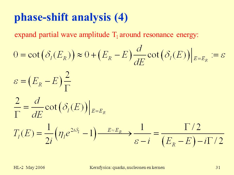 phase-shift analysis (4)