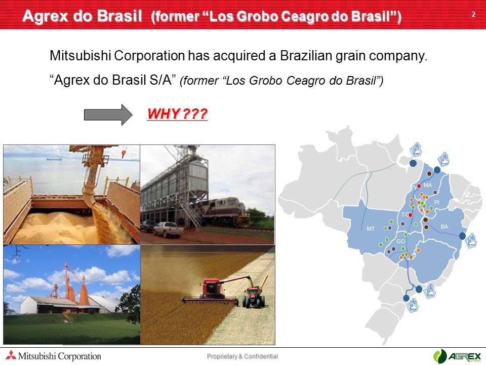 Agrex do Brasil (former Los Grobo Ceagro do Brasil )