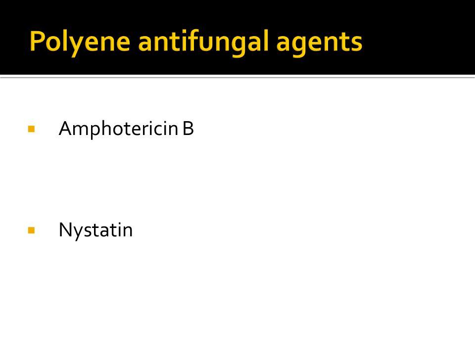 Polyene antifungal agents