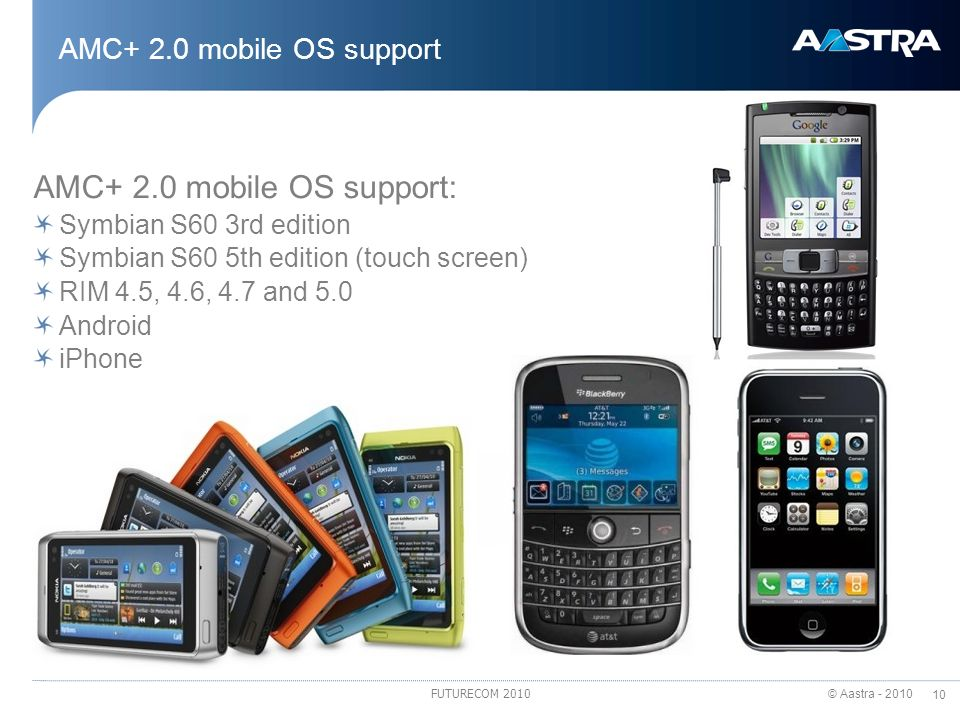 AMC+ 2.0 mobile OS support: