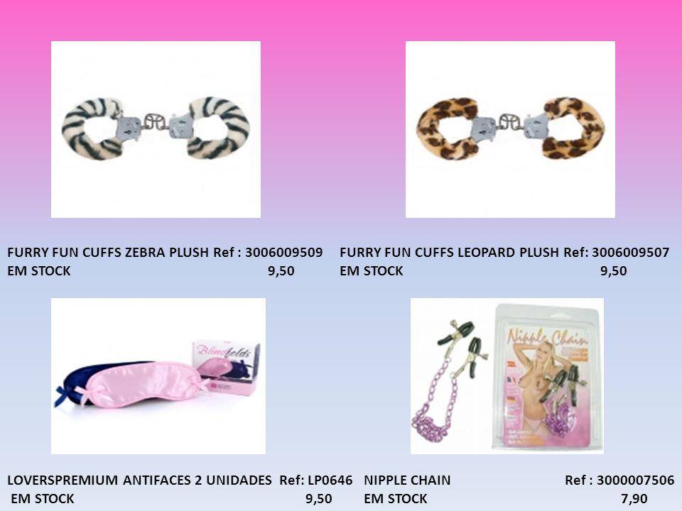 FURRY FUN CUFFS ZEBRA PLUSH Ref : 3006009509