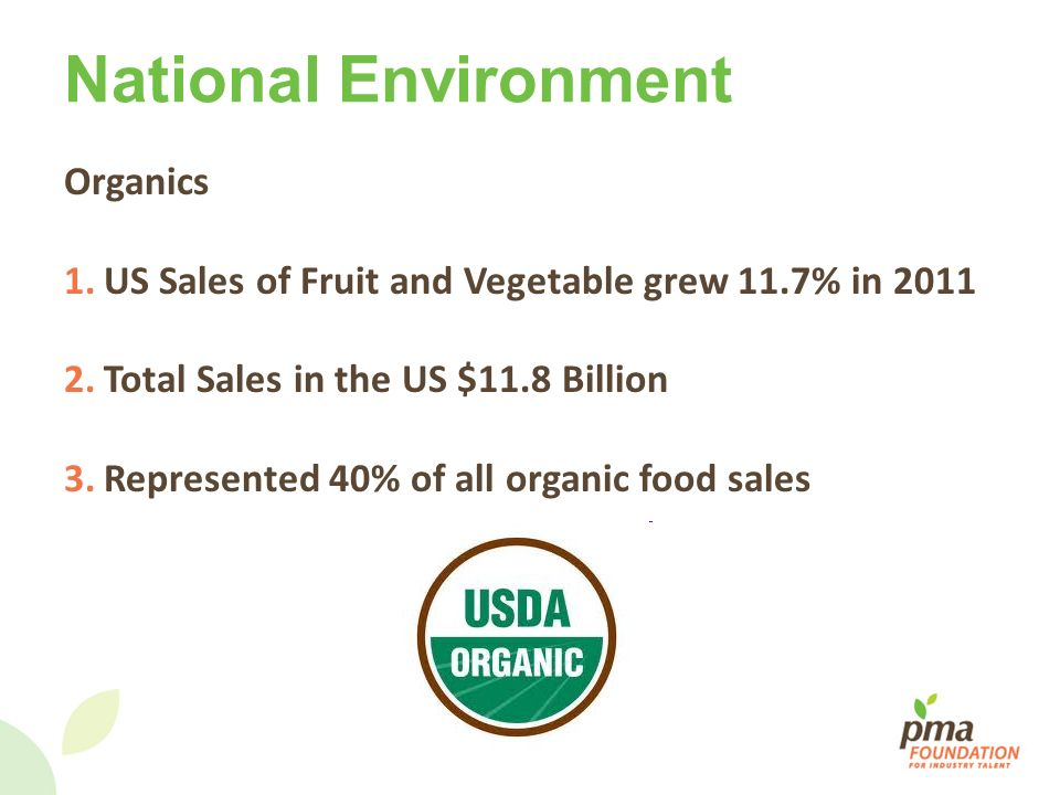National Environment Organics