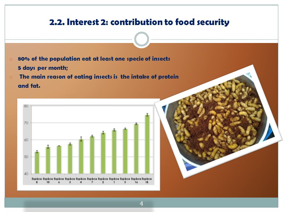 2.2. Interest 2: contribution to food security