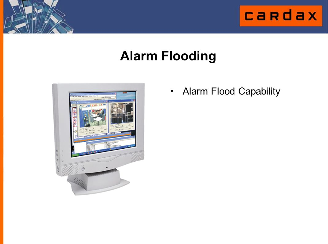Alarm Flooding Alarm Flood Capability