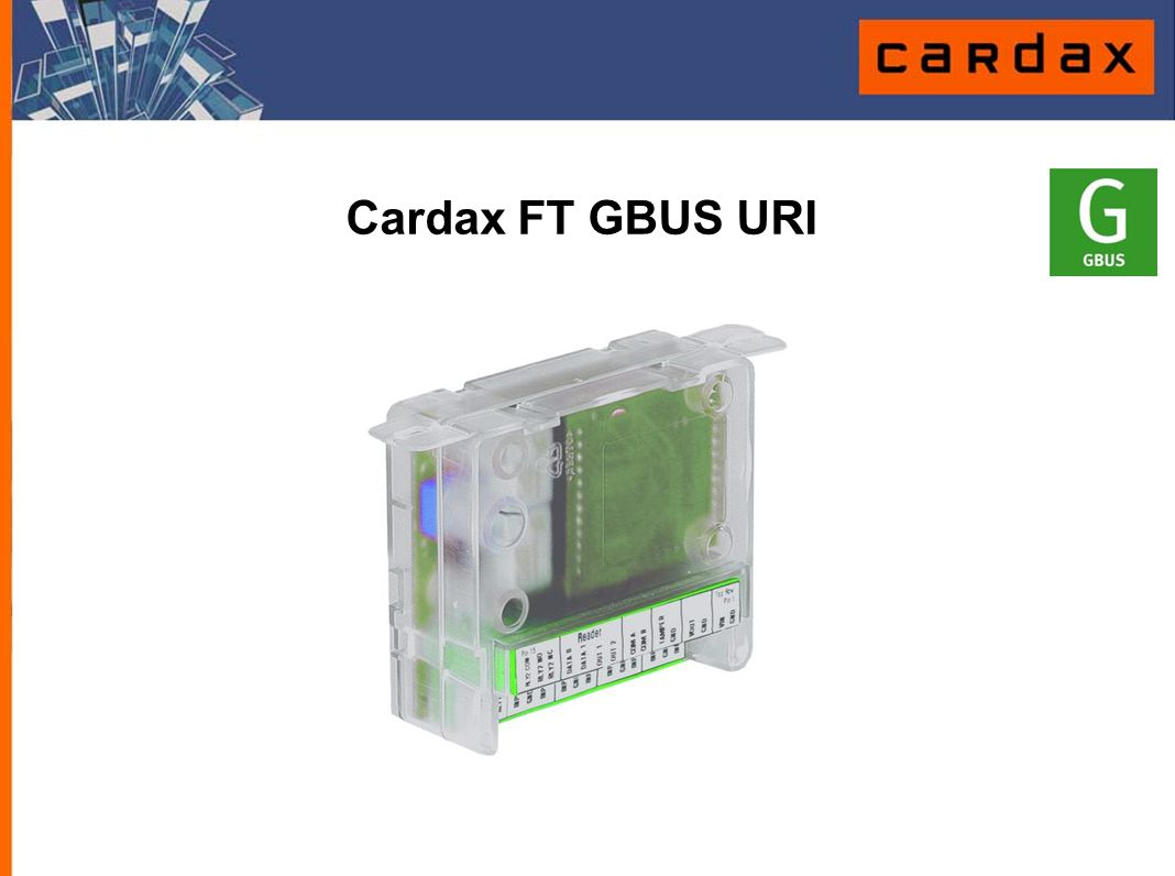 Cardax FT GBUS URI