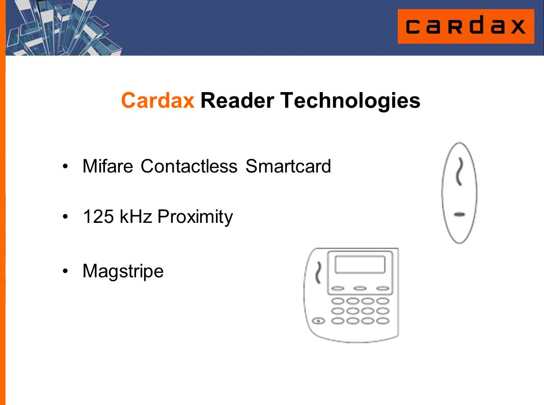 Cardax Reader Technologies
