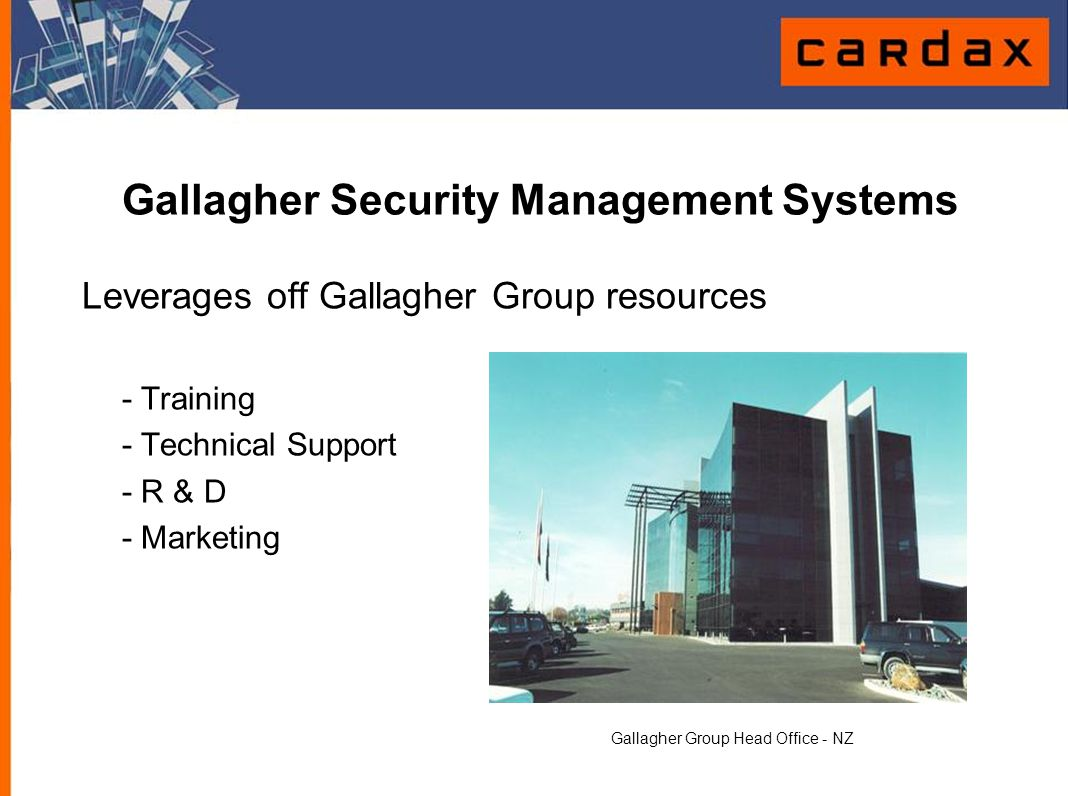 Gallagher Security Management Systems