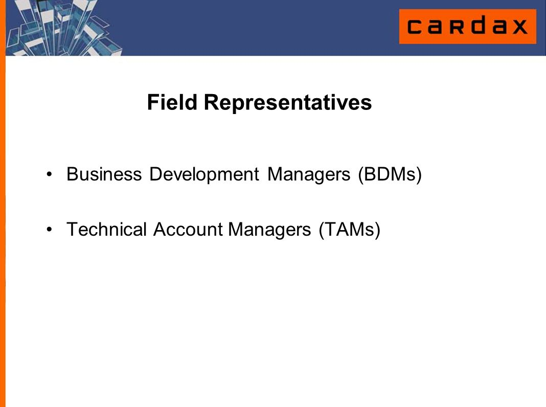 Field Representatives