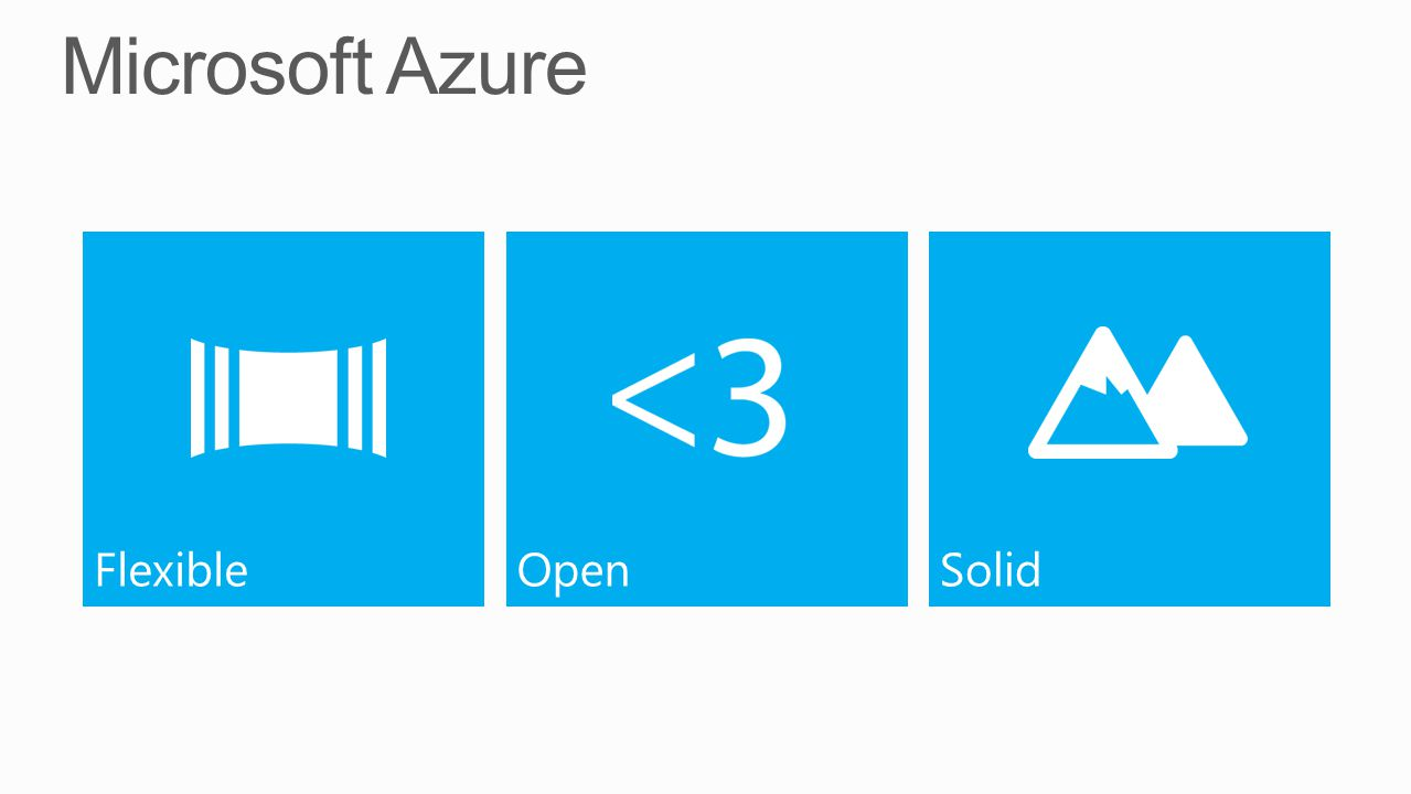 Microsoft Azure Flexible Open Solid
