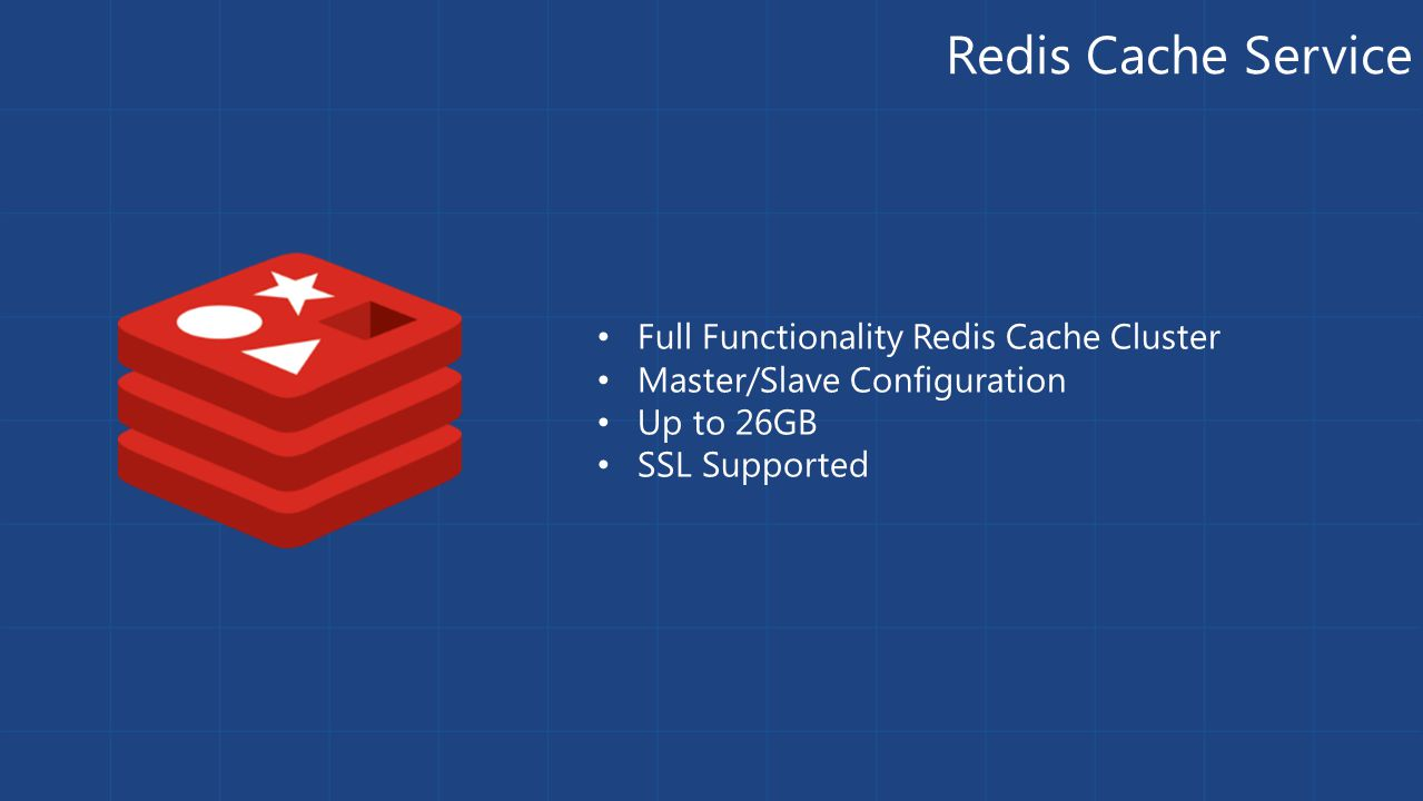Redis Cache Service Full Functionality Redis Cache Cluster