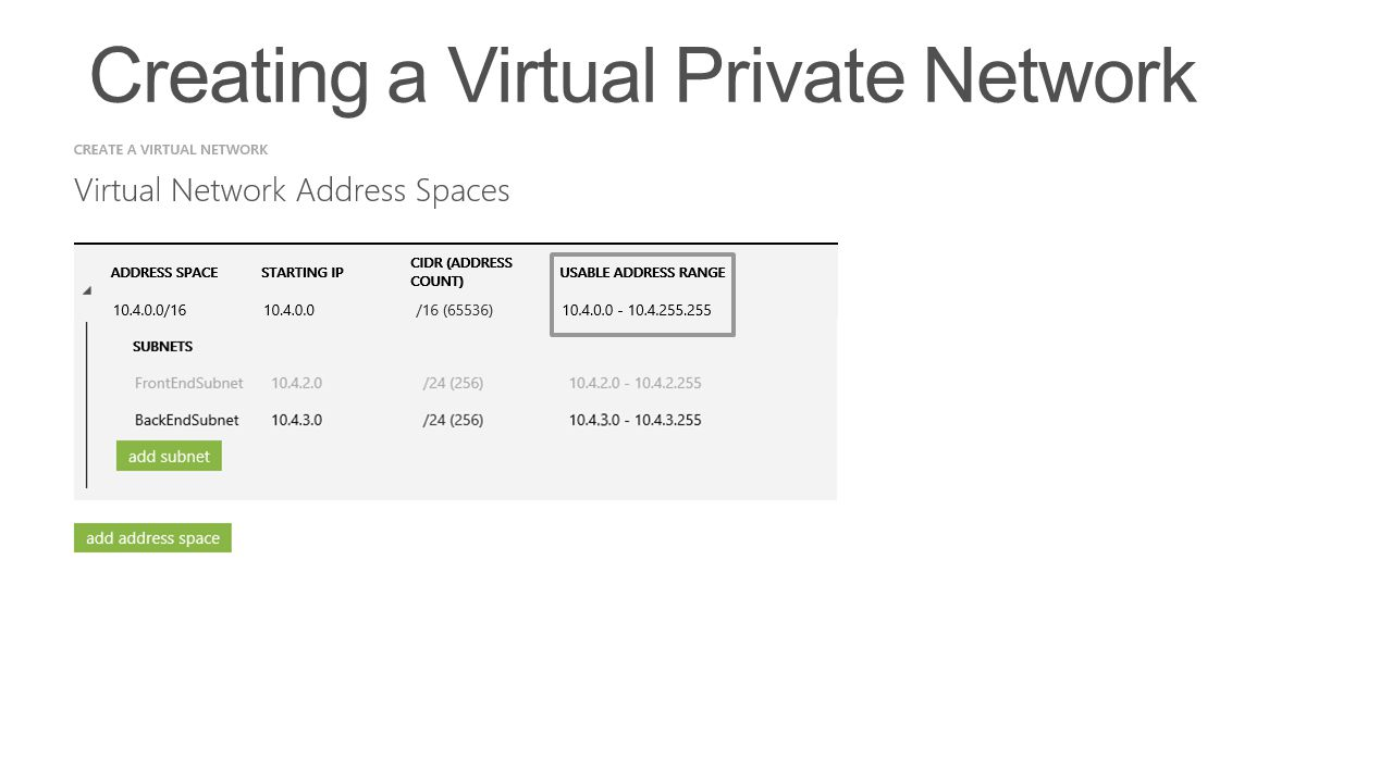 Creating a Virtual Private Network