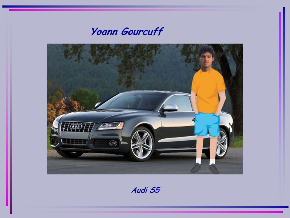 Yoann Gourcuff Audi S5