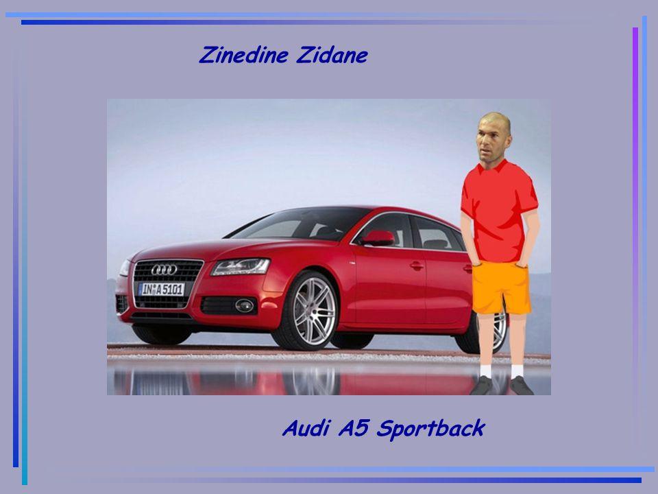 Zinedine Zidane Audi A5 Sportback