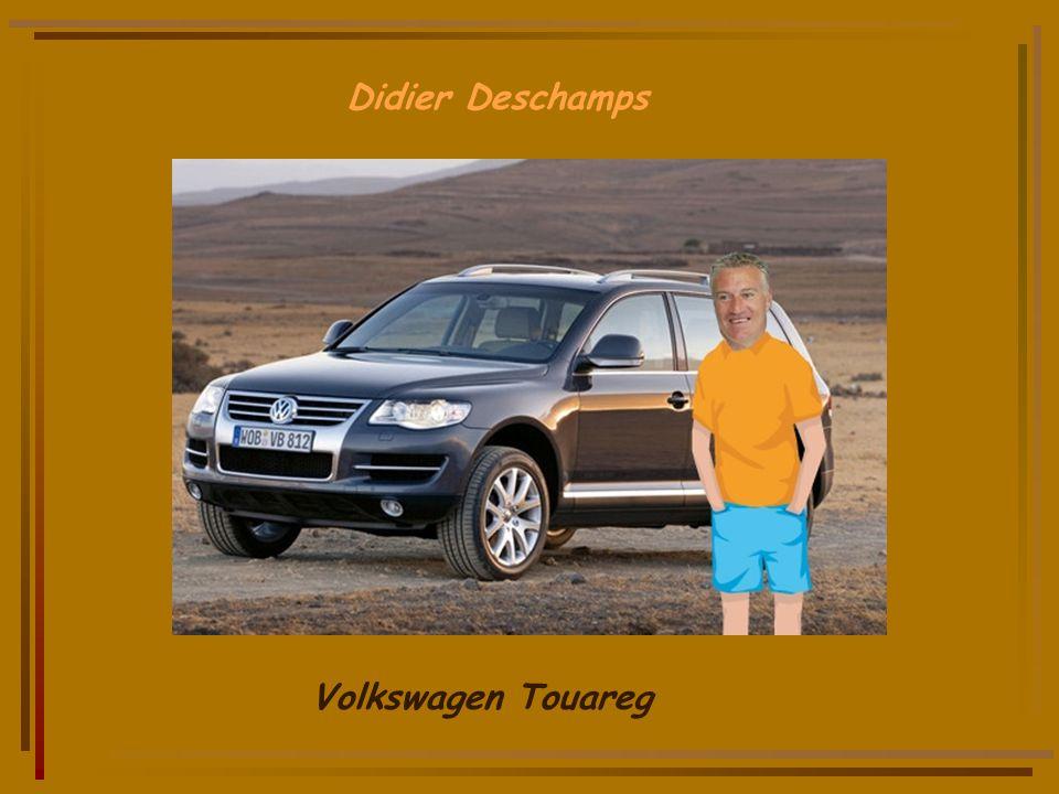 Didier Deschamps Volkswagen Touareg