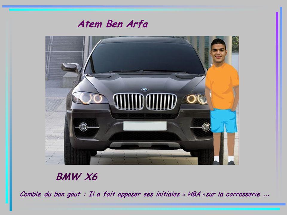 Atem Ben Arfa BMW X6.