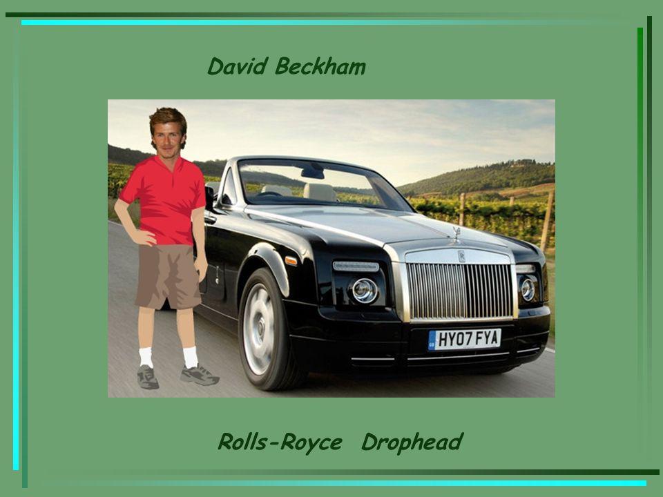 David Beckham Rolls-Royce Drophead