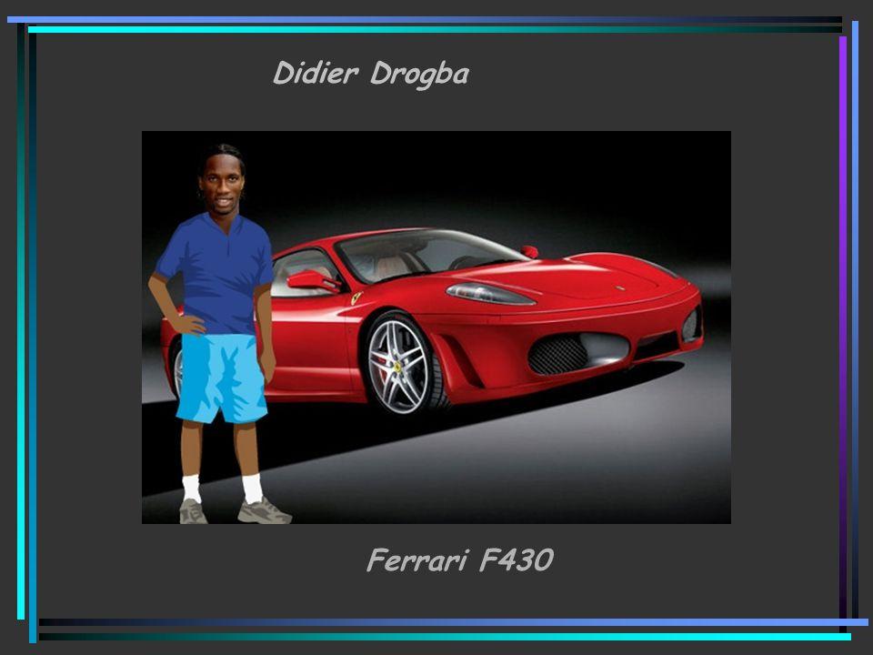 Didier Drogba Ferrari F430