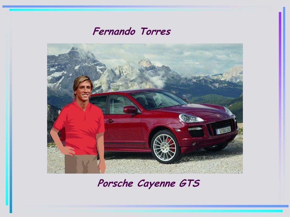 Fernando Torres Porsche Cayenne GTS