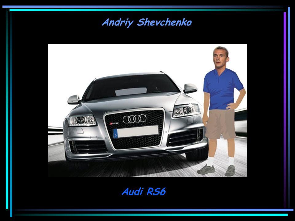 Andriy Shevchenko Audi RS6