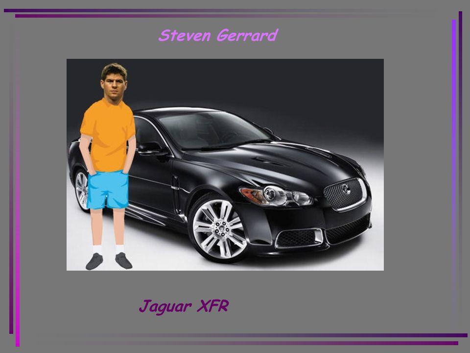 Steven Gerrard Jaguar XFR