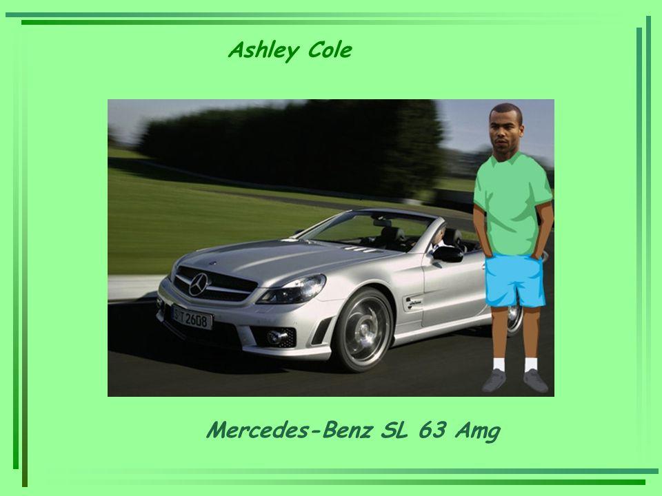 Ashley Cole Mercedes-Benz SL 63 Amg