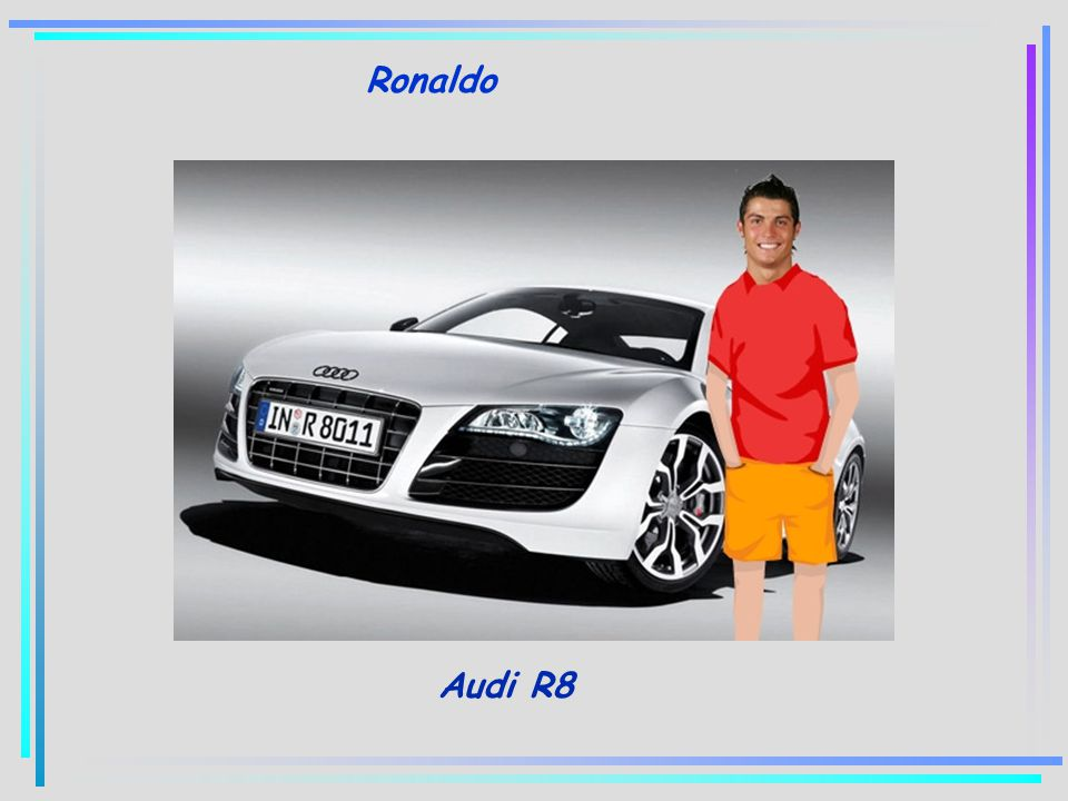 Ronaldo Audi R8
