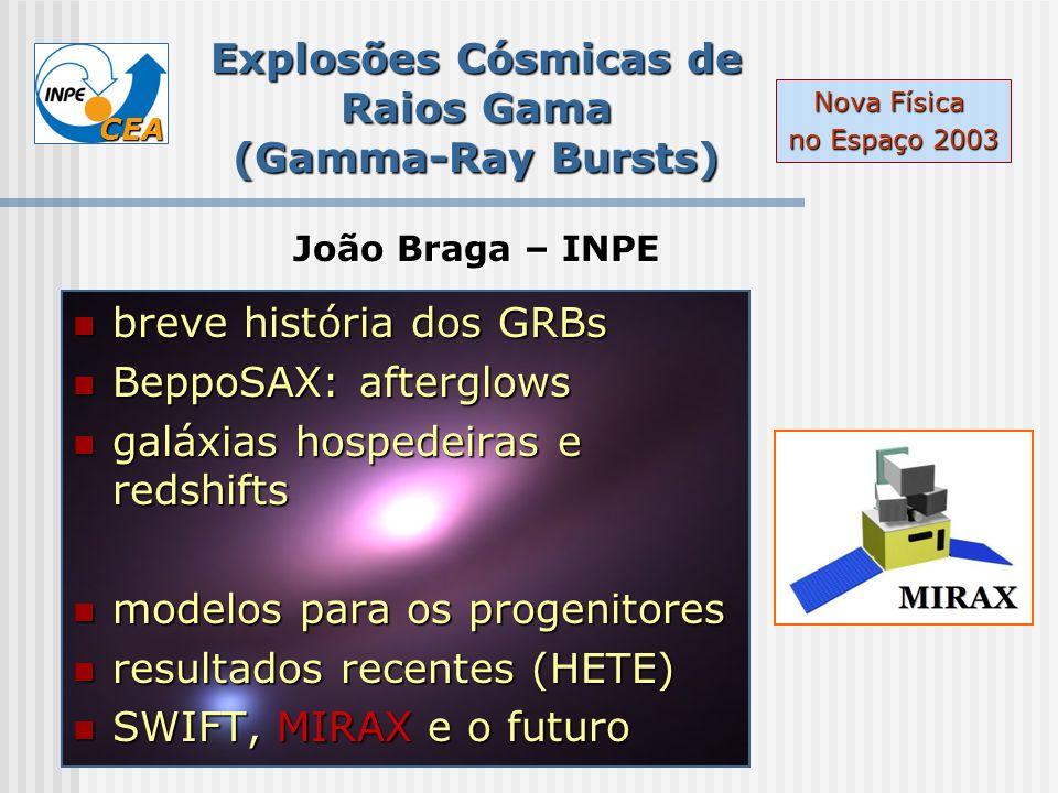Explosões Cósmicas de Raios Gama (Gamma-Ray Bursts)