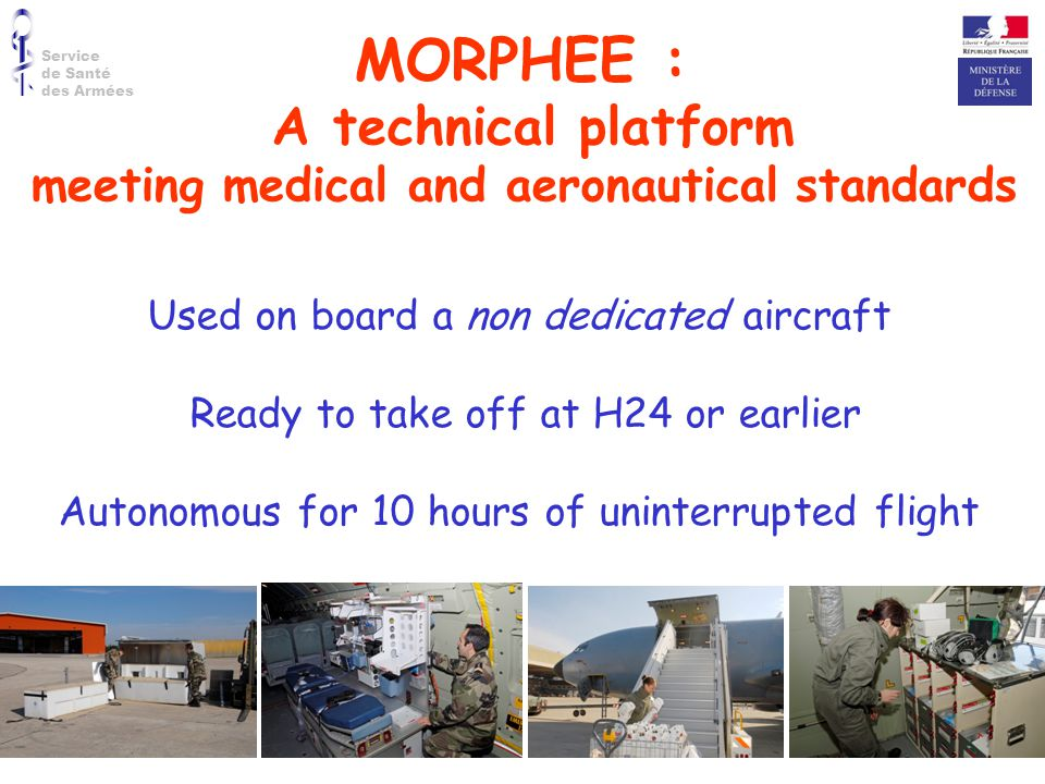 meeting medical and aeronautical standards