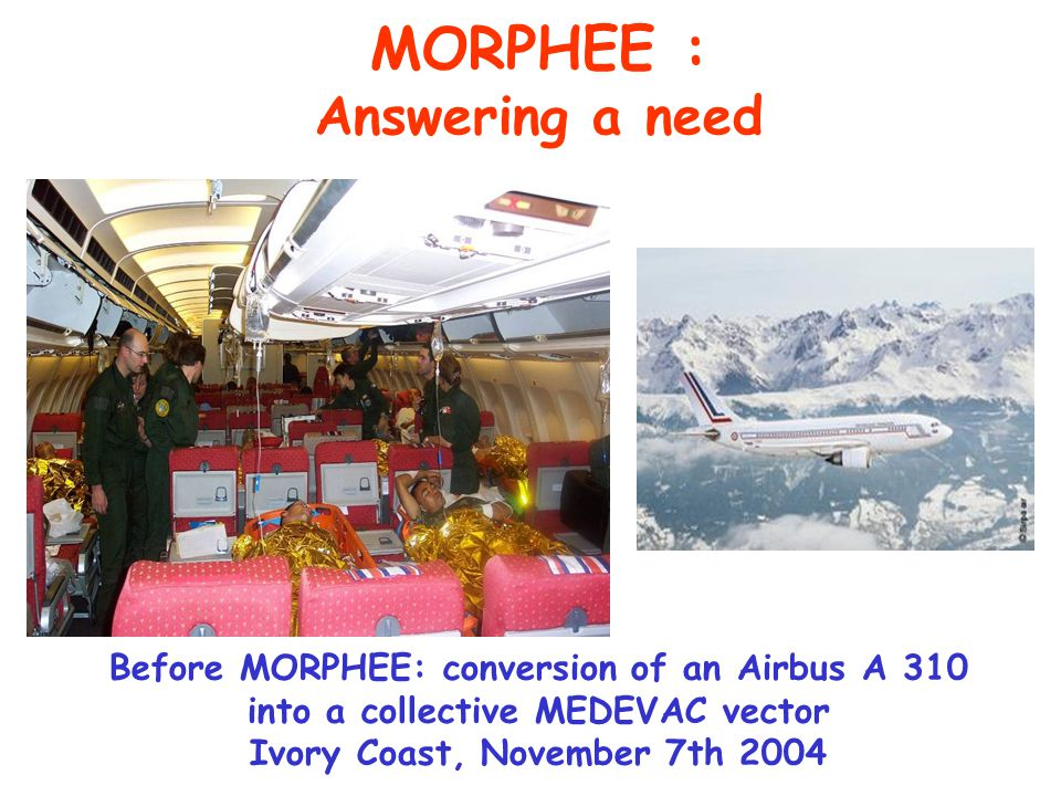 MORPHEE : Answering a need