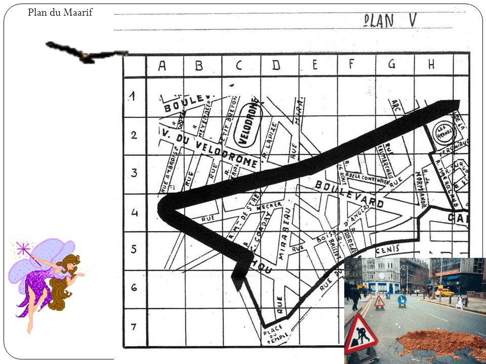 Plan du Maarif