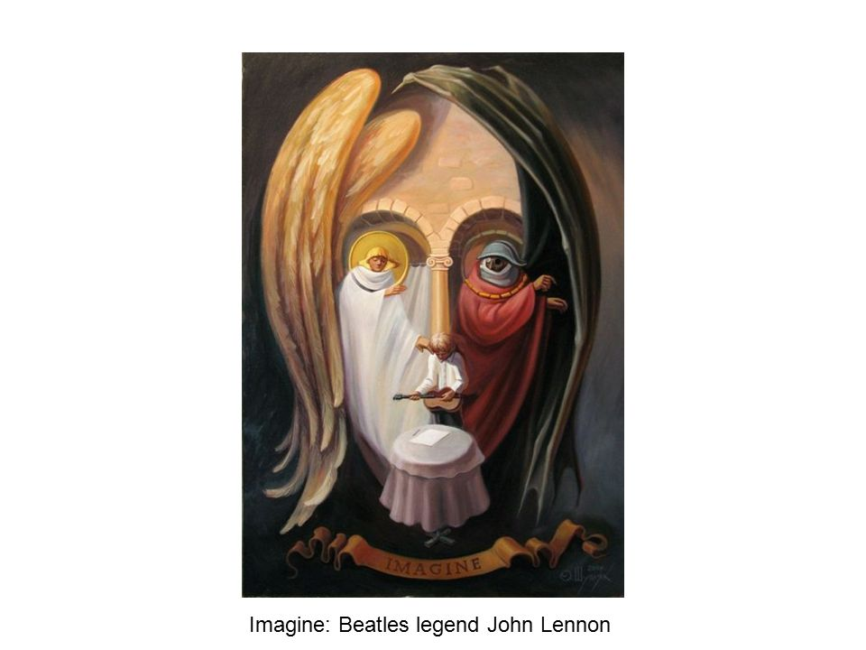 Imagine: Beatles legend John Lennon