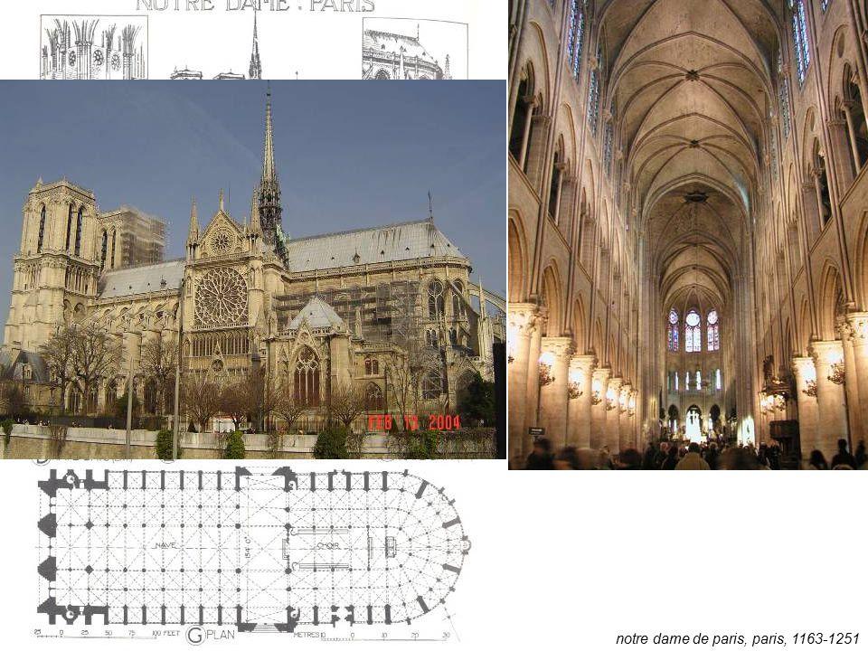 notre dame de paris, paris, 1163-1251