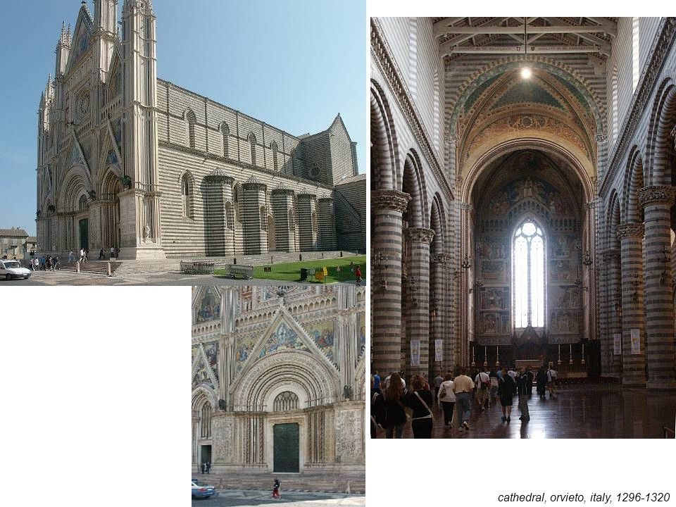 cathedral, orvieto, italy, 1296-1320