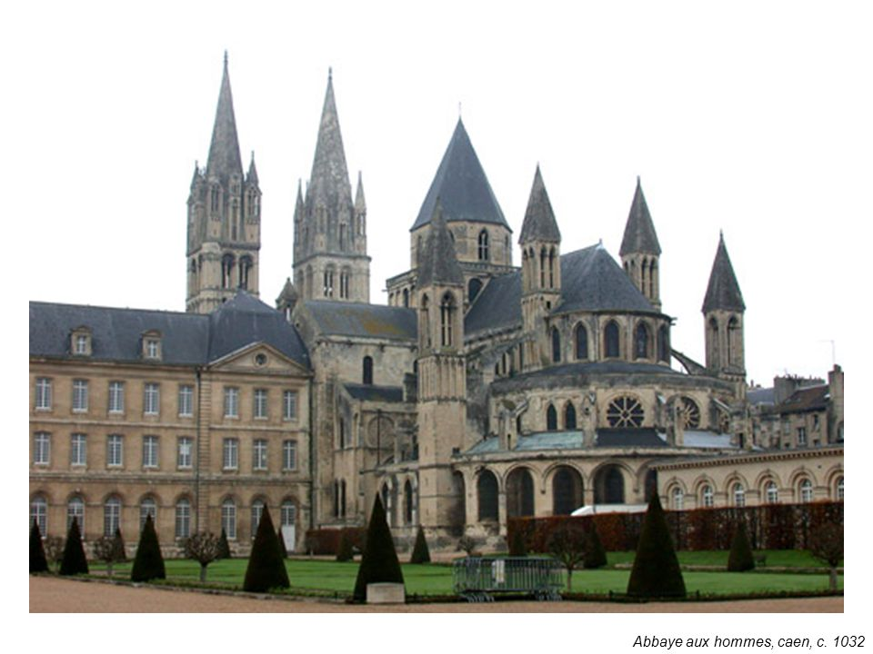 Abbaye aux hommes, caen, c. 1032
