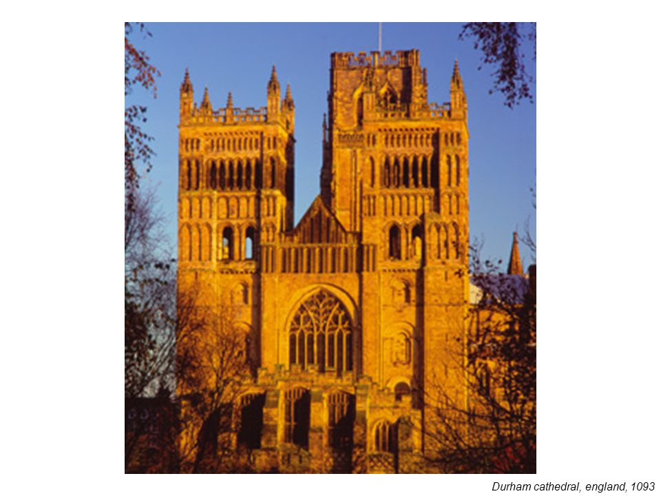 Durham cathedral, england, 1093