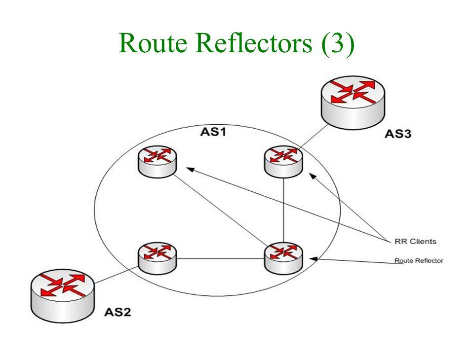 Route Reflectors (3)
