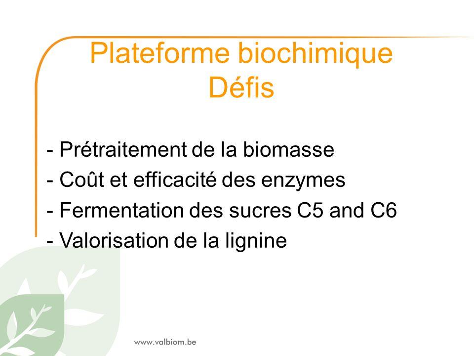 Plateforme biochimique
