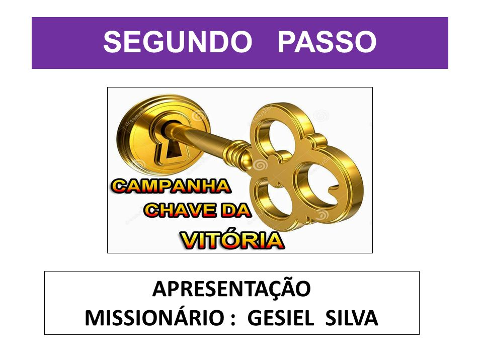 MISSIONÁRIO : GESIEL SILVA