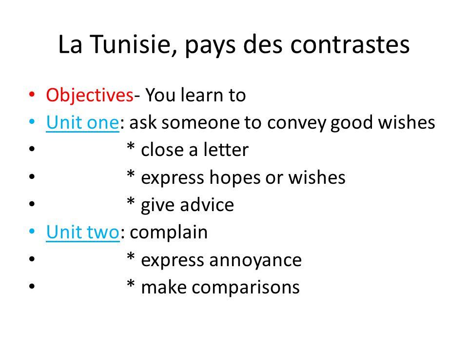 La Tunisie, pays des contrastes