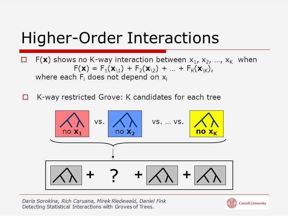 Higher-Order Interactions