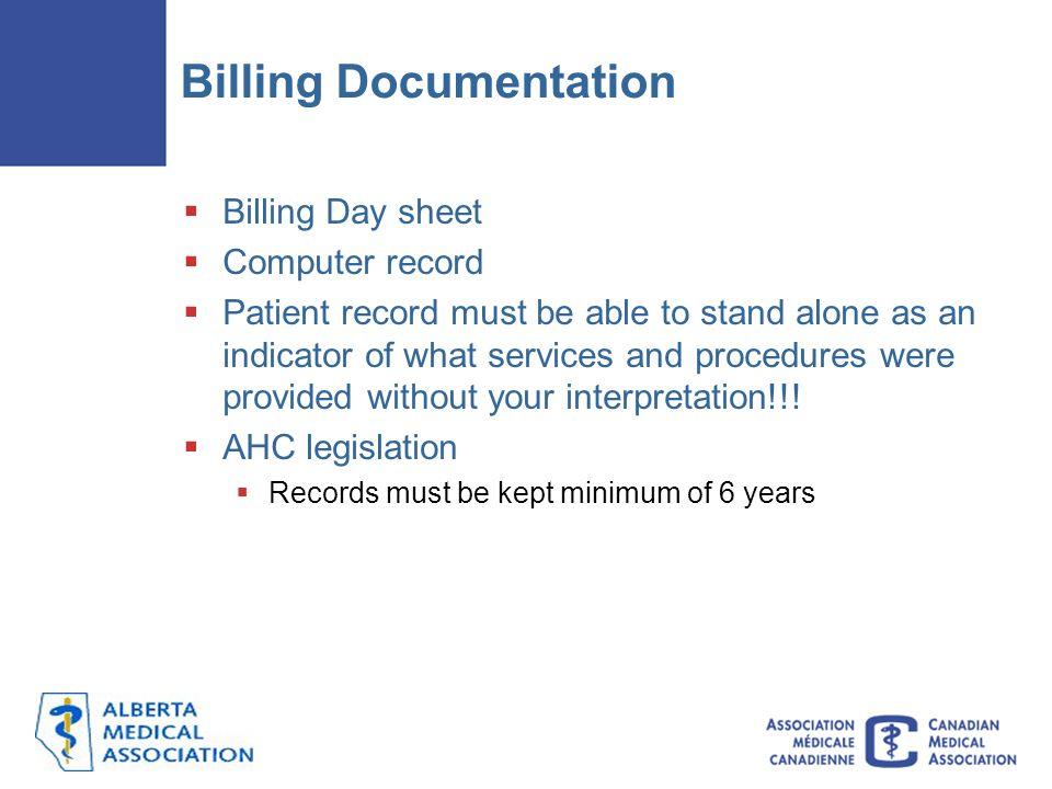 Billing Documentation