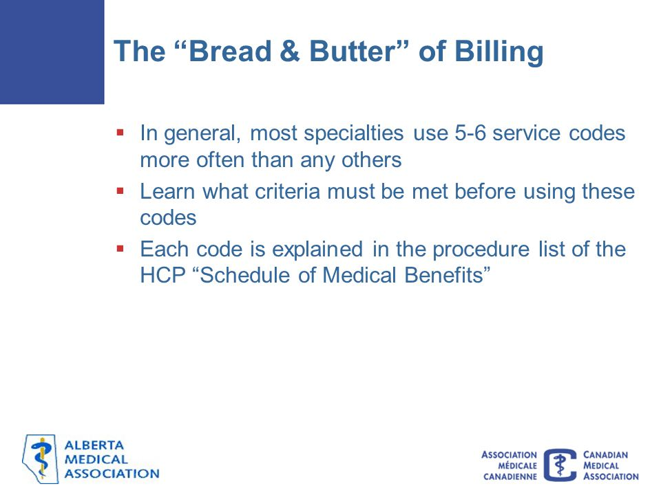 The Bread & Butter of Billing