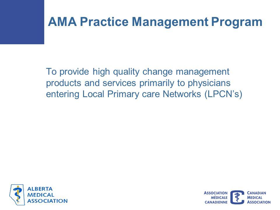 AMA Practice Management Program