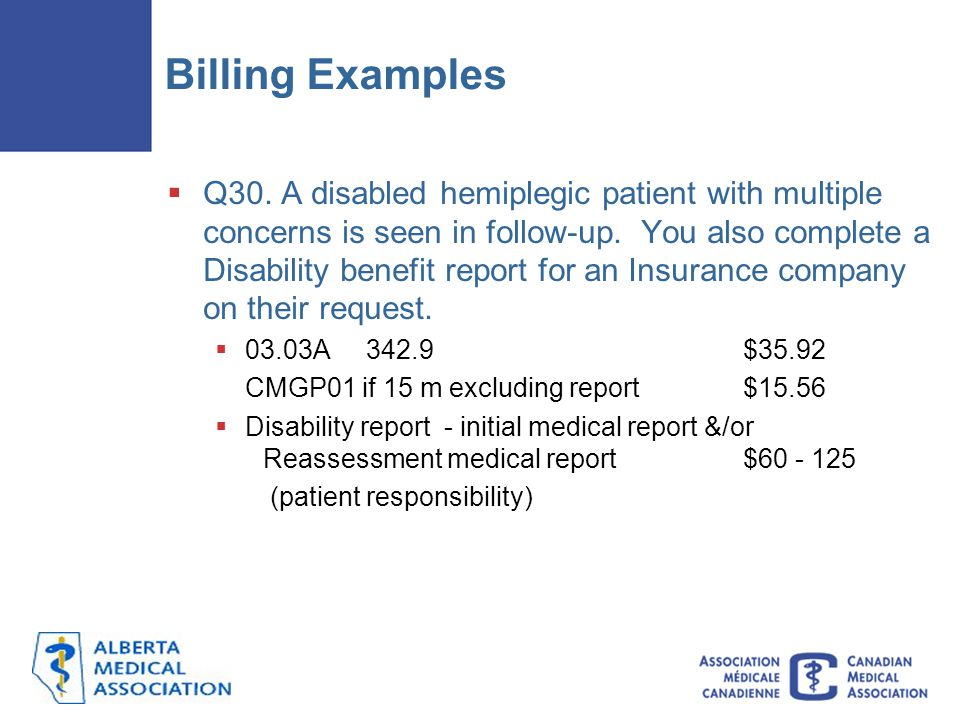 Billing Examples