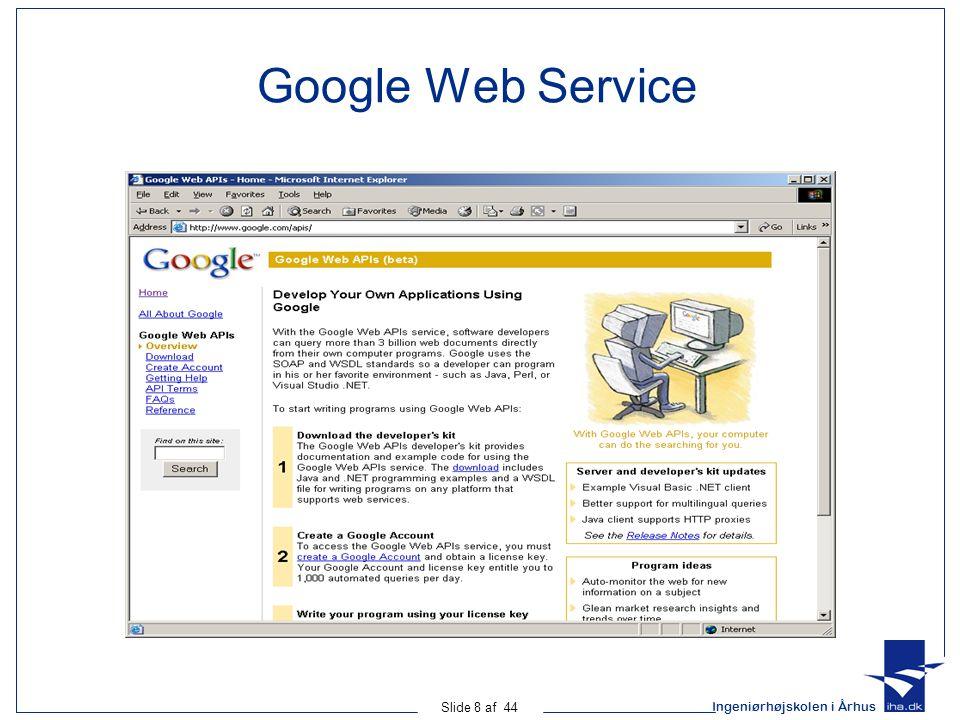 Google Web Service